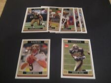 2006 Topps New Orleans Saints Team Set 7 Cards Reggie Bush RC