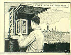 Macedonia meteorological station weather TOBACCO HISTORY HISTOIRE TABAC CARD 30s