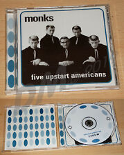 THE MONKS Five (5) Upstart Apericans CD Early US Beat Garage Punk Monster TOP