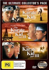 Karate Kid / Karate Kid 02 / Karate Kid 03 (DVD, 2002, 2-Disc Set)