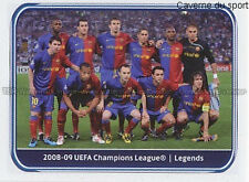 N°552 TEAM WINNER 2009 # FC.BARCELONA UEFA CHAMPIONS LEAGUE 2011 STICKER PANINI