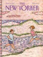 New Yorker COVER 09/14/1987  Beach Runners - EHRENBERG