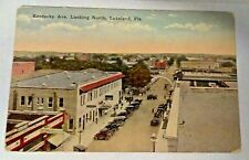 Vintage Early 1900s KENTUCKY AVENUE, Lakeland, FL unused Post Card  NICE