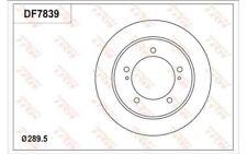 TRW Juego de 2 discos freno 289mm Para SUZUKI JIMNY DF7839