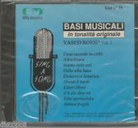 VASCO ROSSI - Le basi musicali  vol. 1 - CD SIGILLATO