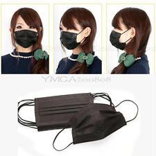 50 Stück Einweg Mundschutz Elastischem Band Staubmaske Mundschutz Maske
