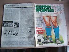 GUERIN SPORTIVO=N°13 1980=ANNO LXVIII=*DYNAMO BERLINO-NOTTINGHAM FOREST
