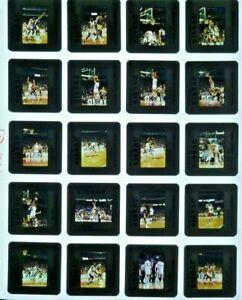 JTM5-25 Early 1990s NBA Chicago Bulls Los Angeles Lakers (20) ORIG 35mm Slides