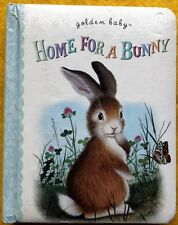 Golden Baby Home for a Bunny by Margaret Wise Brown FREE AU POST Used Board Book
