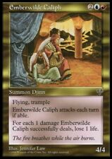 MTG 1x EMBERWILDE CALIPH - Mirage *Rare Fly Trample NM*