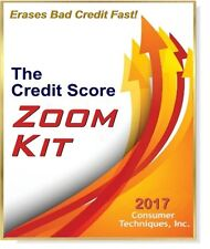 Need a Good Credit Score RIGHT NOW?  Erase Bad Credit Fast! Zoom Your Score!
