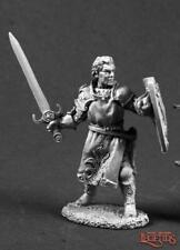 Reaper Miniatures 03556: Ashlan Fellthrush, Heroic Paladin - Dark Heaven Legends