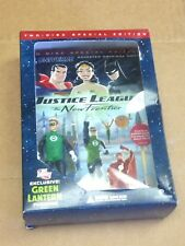 Justice League: The New Frontier DVD Special Edition Sealed Green Lantern Figure