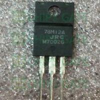 9PCS NJM78M12FA Encapsulation:TO-220,3-TERMINAL POSITIVE VOLTAGE REGULATOR
