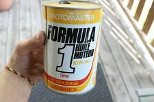 Vintage Motomaster Canadian Tire Formula 1 Motor Oil Can Advertising