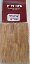 """Slaters 71440A -7mm 100x 1/16"""" Plywood Sleepers Scale 9' 0"""" x 10"""" 1st Class Post"""