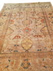 """Rare Antique coveted SULTANABAD-ZIEGLER Room size Beige Rug - 8'1"""" x 11'2"""""""