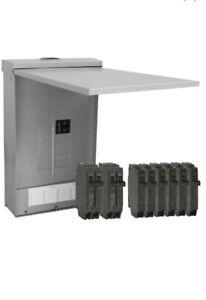 GE PowerMark Gold 125-Amp 12-Spaces 24-Circuit Main Breaker Load Center (Value P