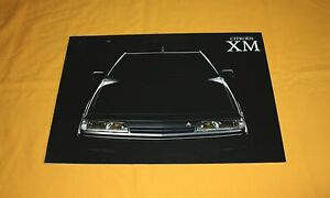 Citroen XM 1989 Vorab Prospekt Brochure Catalog Depliant Prospecto Folder