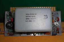 9710319 Piezo Crystal Co. Crystal Filter Cf-2Mhz Bw-1Kmz New Old Stock