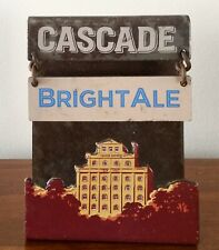 Cascade Bright Ale. Beer Font Badge. Beer Tap Top.