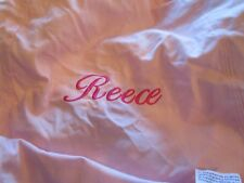 Pottery Barn Kids  Anywhere Beanbag slipcover Pink  monogrammed Reece New