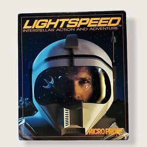 Lightspeed Interstellar Action And Adventure (1990) MicroProse Big Box PC Game