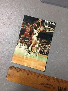 Michael Jordan CHICAGO BULLS McHale Parish BOSTON CELTICS 3.5x5 Type 1 Photo