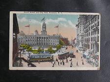 CPA DES USA : COURT STREET AND CITY HALL - BROOKLYN N. Y. 1920  - TBE