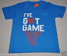 Gymboree toddler boy i've got game tee shirt 12-18 months NWT top boys
