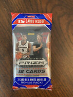 Panini Prizm NBA Draft Picks 2020 Collegiate 12-Card Basketball Trading Cards...