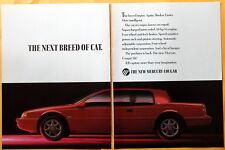 Mercury Cougar XR7  Magazine Print Ad 1989