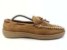 Clarks Men's Brown Slip On Moc Toe Slippers Size 9 M