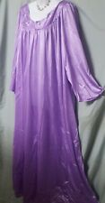 """Woman Within Ankle Purple w//Lilac Nightgown Sz 6X 80/"""" BUST B3G1 FREE"""