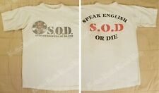 1997 SOD T-Shirt Vtg Tour Sgt D Stormtroopers Of Death anthrax m.o.d. sergeant