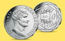 Silver Limited Edition Piéce d'Histoire Napoleon €10 COIN 08/18 - IN THE UK!