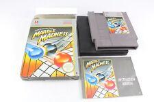 NES Nintendo mármol Madness Juego PAL Reino Unido Muy Buena