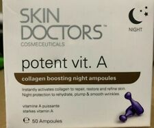 Skin Doctors Potent Vit. A (Vitamin A) Collagen Boosting Ampoules , #50 NIGHT