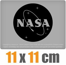 NASA 11 x 11 cm JDM Sticker étiquette Course Die Cut