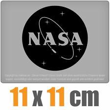 NASA 11 x 11 cm JDM Decal Sticker Aufkleber Racing Die Cut