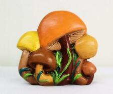 Merry Vtg 70's Ceramic Mushroom Napkin Letter Holder Retro Kitchen Decor Hippie