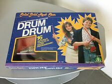 1988# Rhythm Rods, Electronic Drums & Amp, Playtime, Solid Gold Rock Star#NIB