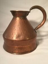 "Small Vintage Copper Jug 6"" high (ref W586)"