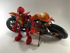 LEGO Bionicle Hero Factory FURNO BIKE 7158 Complete Figure Vehicle Set Excellent