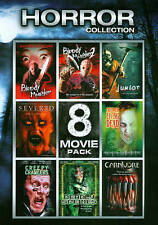 Horror Collection 1: 8 Movie Pack (DVD, 2012, 2-Disc Set)