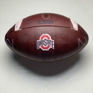 2017 Ohio State University Buckeyes Team Issued Wilson CFP NCAA Football Big Ten