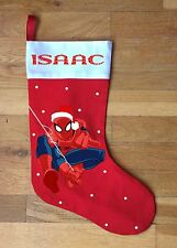 Spiderman Christmas Stocking - Personalized and Hand Made