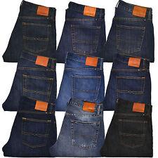 Lucky Brand Jeans 221 Original Reta Masculino Calça Jeans Azul 30 32 34 36 38 40