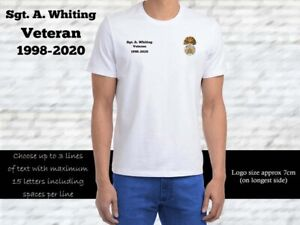 Royal Welch Fusiliers Personalised T Shirt