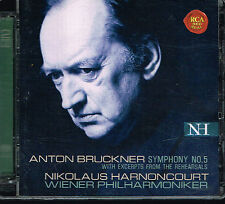 CD album: Bruckner: symphony N°5. Nikolaus Harnoncourt. RCA 2CDs. B